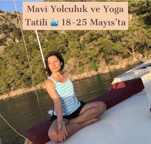 Banu Çadırcı ile Mavi Yolculuk ve Yoga Tatili