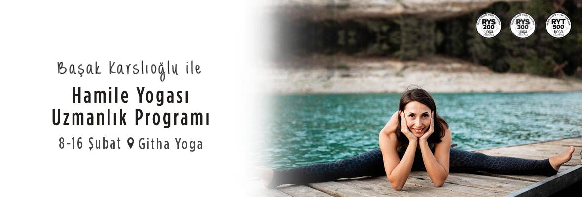 Başak Karslıoğlu ile Hamile Yogası Uzmanlık Programı