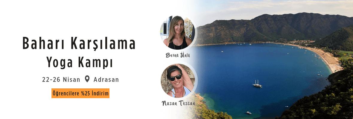 Baharı Karşılama Yoga Kampı Berna Ünlü
