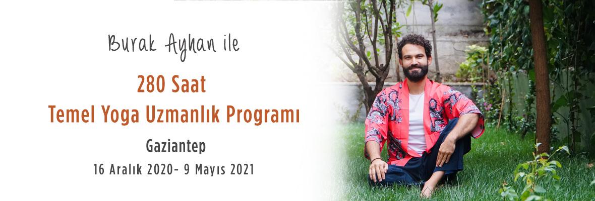 Burak Ayhan ile YogaKioo Uluslararası 280 saat Temel Yoga Uzmanlık Programı