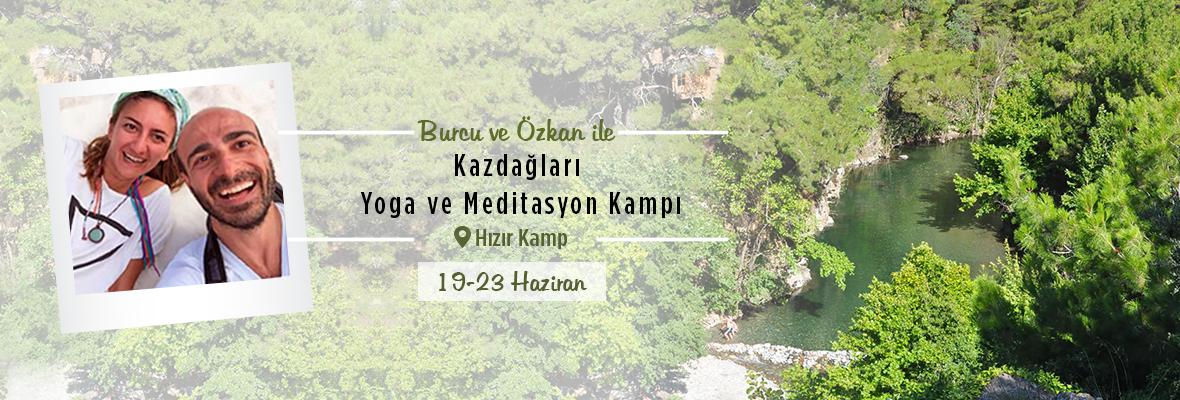 Workshopix Hızır Kamp'ta Yoga ve Meditasyon Kampı