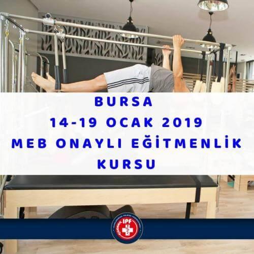 MEB Onaylı Pilates Eğitmenlik Kursu - Bursa