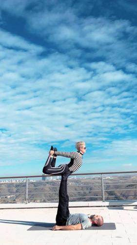 Ceren Bodur ile Acro Yoga