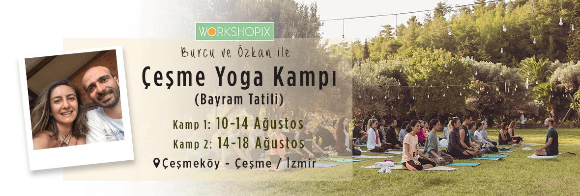 Çeşmeköy'de Yoga ve Meditasyon Kampı(Bayram Haftası)