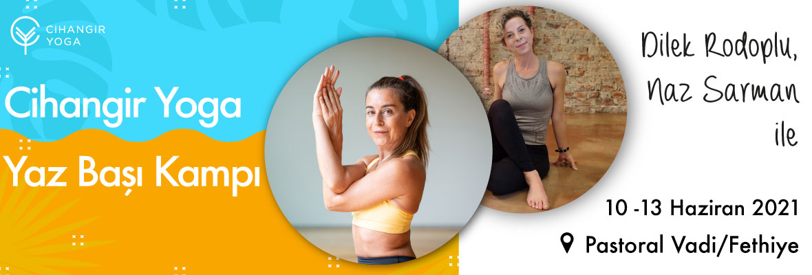 Cihangir Yoga Yaz Başı Kampı