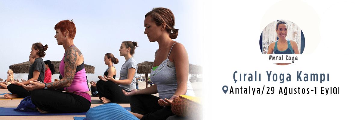 Meral Kaya ile Çıralı Yoga Kampı