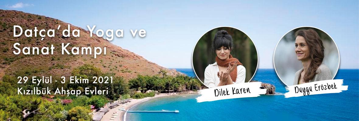 Datça' da Duygu Erözbek ve Dilek Karen ile Yoga ve Sanat Kampı
