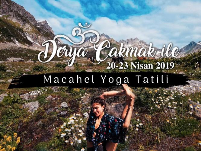 Derya Çakmak 20-23 Nisan Karadeniz Yoga Tatili