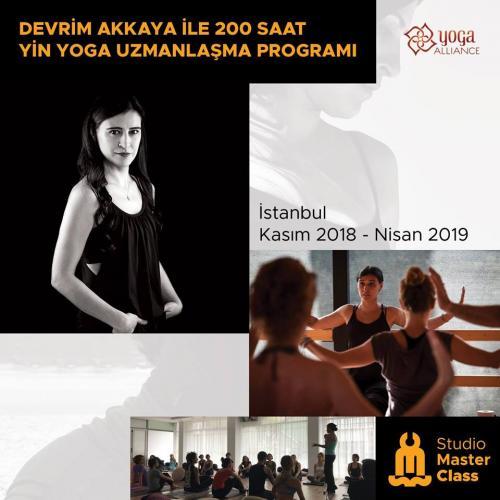 Devrim Akkaya ile 200 Saatlik Yin Yoga Uzmanlaşma -Yoga Alliance