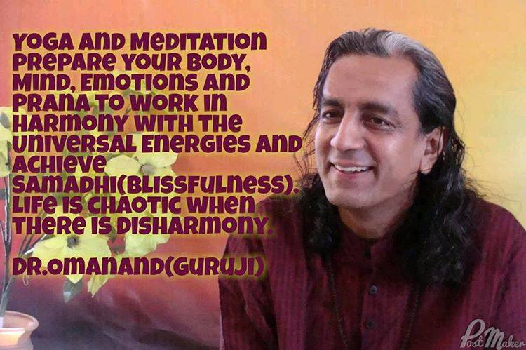 Dr. Omanand Baweja ile Yoga Terapi Teknikleri Atölyeleri