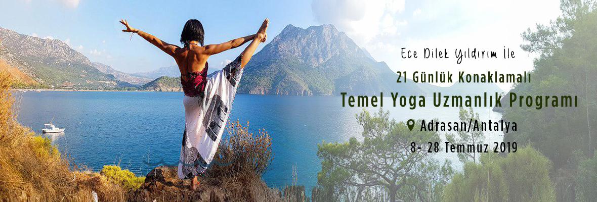 21 Günlük Konaklamalı Temel Yoga Uzmanlık Programı Adrasan Ece Dilek Y