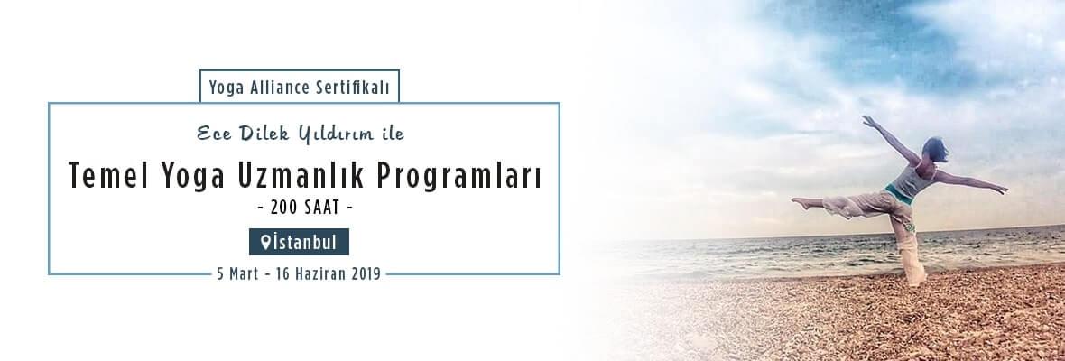 İstanbul Temel Yoga Uzmanlık Programları 200 Saat Yoga Alliance