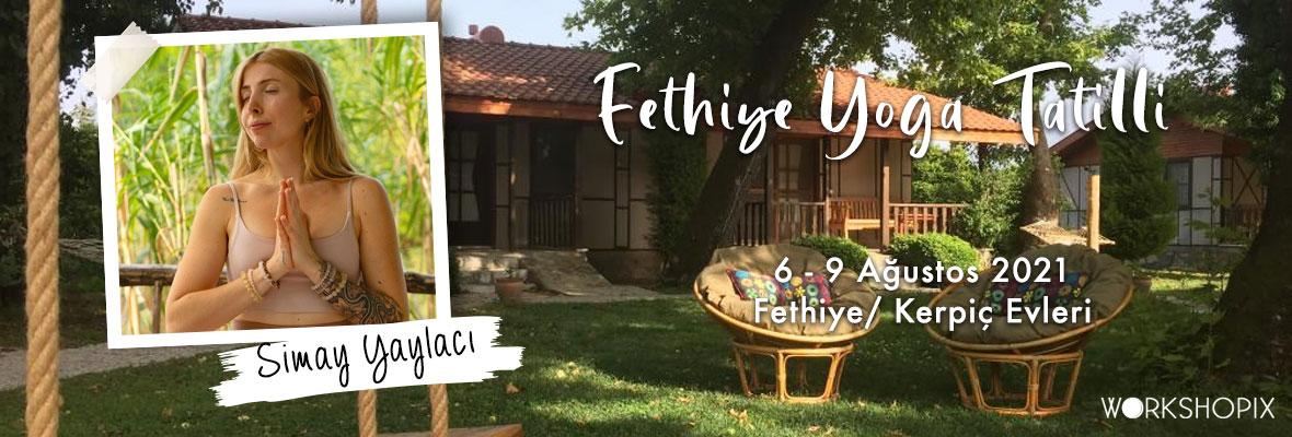 Fethiye Yoga Tatilli