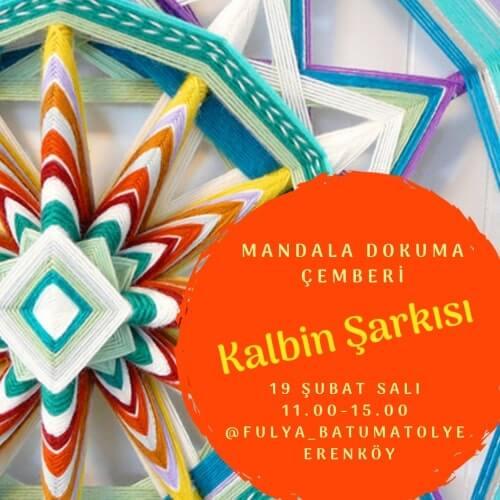Kalbin Şarkısı Mandala Dokuma Çemberi