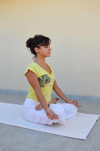 Gayatri ile Sivenanda Yoga