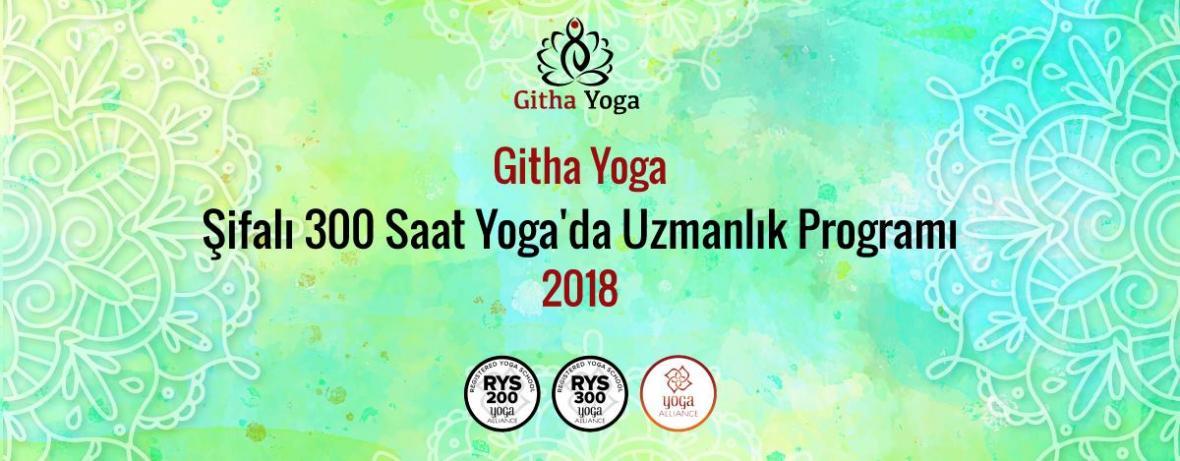 Githa Yoga Şifalı 300 Saat (RYS) Yoga'da Uzmanlık Programı