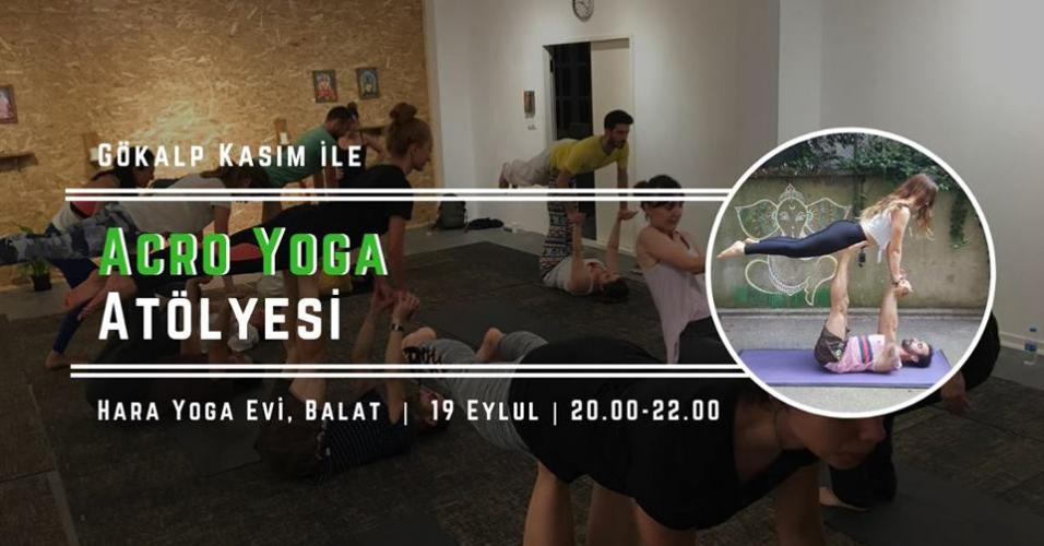 Gökalp Kasım ile Acro Yoga'nın Temelleri