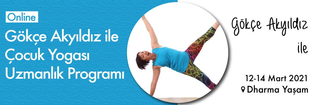 Gökçe Akyıldız ile Çocuk Yogası Uzmanlık Programı