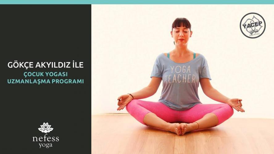 Gökçe Akyıldız ile Çocuk Yogası Uzmanlaşma Programı