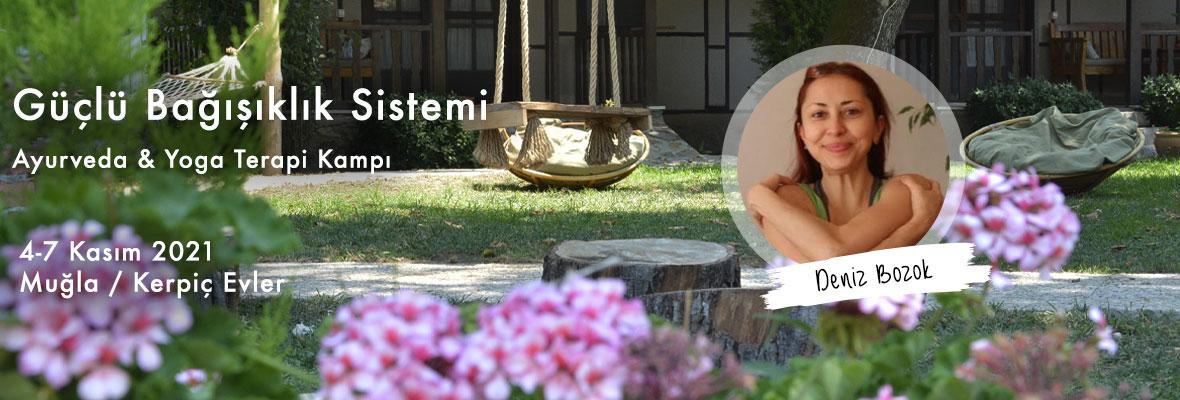Güçlü Bağışıklık Sistemi Ayurveda & Yoga Terapi Kampı