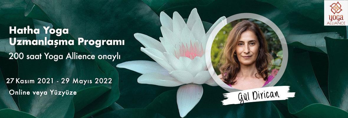 Gül Dirican ile Hatha Yoga Uzmanlaşma Programı(200 saat Yoga Allience