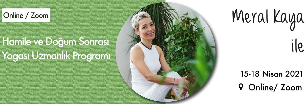 Hamile ve Doğum Sonrası Yogası Uzmanlık Programı