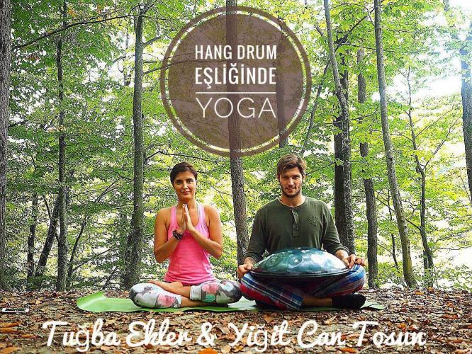 Hang Drum Eşliğinde Yoga // Tugba Ekler & Yigit Can Tosun