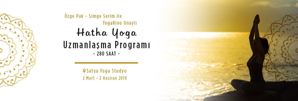 YogaKioo onaylı Hatha Yoga Uzmanlaşma Programı  280 Saat