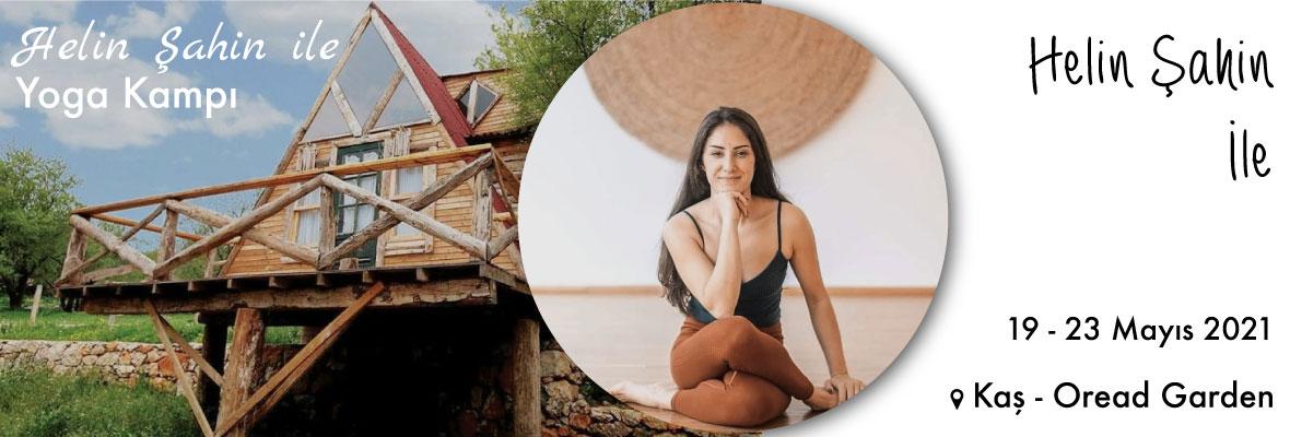 Helin Şahin ile Yoga Kampı