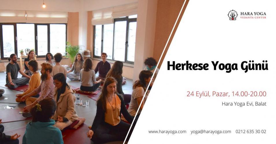 Herkese Yoga Günü! Ücretsiz Dersler, Sohbetler ve Müzik