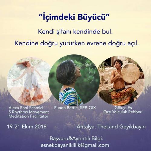 Içimdeki Büyücü - Antalya