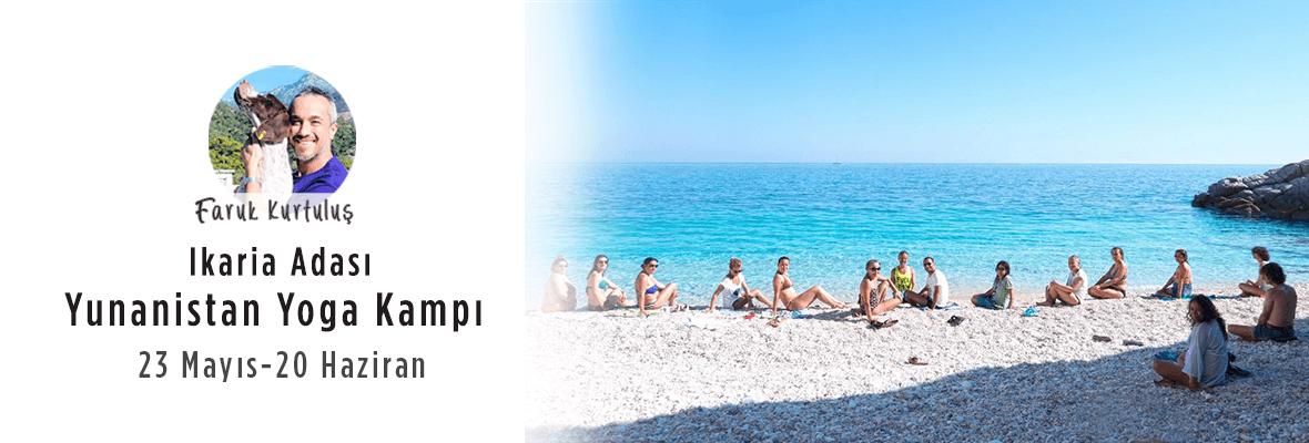 Ikaria Adası, Yunanistan Yoga Kampı Faruk Kurtuluş