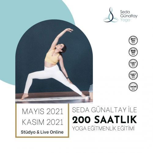 Seda Günaltay Yoga 200 Saatlik Yoga Uzmanlık Programı