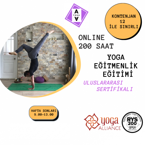 200 Saat Yoga Alliance Onaylı Yoga Uzmanlık Programı