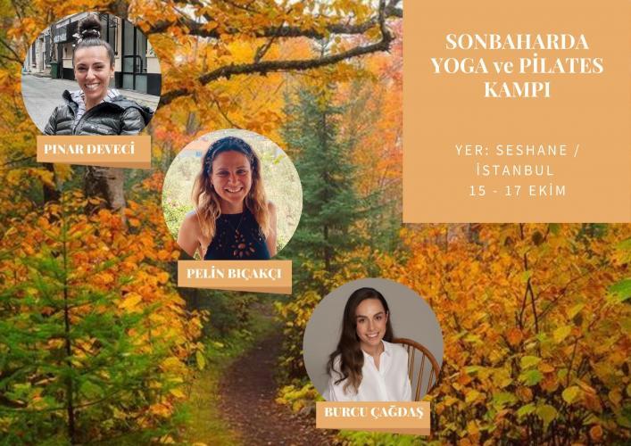 Sonbaharda Yoga Ve Pilates Kampı Burcu Çağdaş