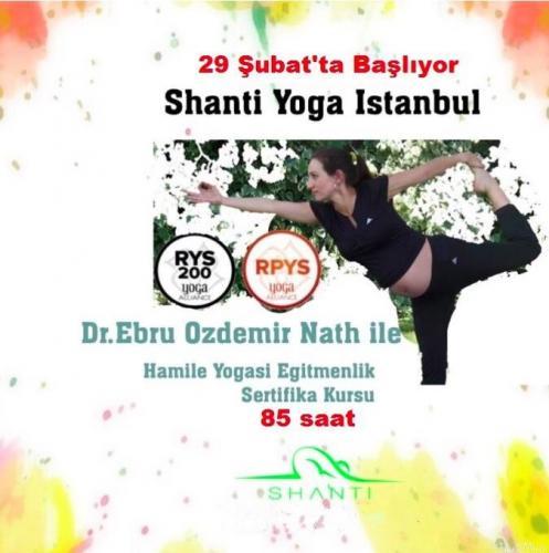Yoga Alliance onaylı Hamile Yogası Uzmanlaşma programı