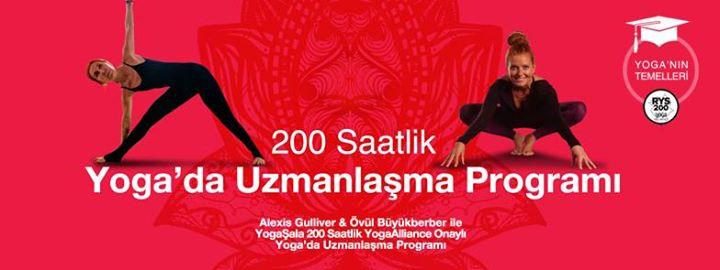 Alexis & Övül - 200 Saat YogaAlliance Onaylı Uzmanlaşma Programı Övül