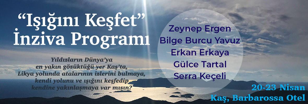 Işığını Keşfet İnziva Programı - Kaş, Antalya
