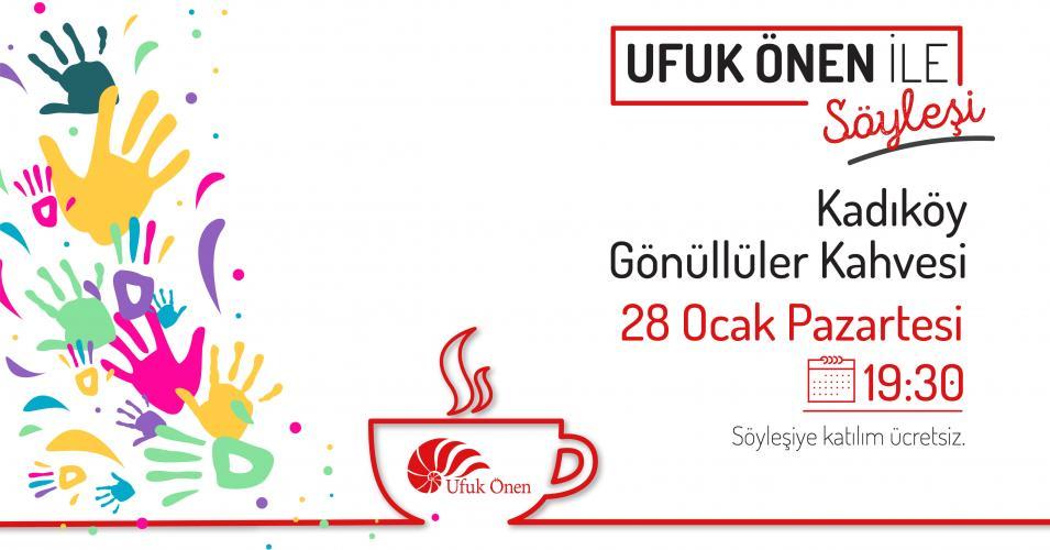 Kadıköy Gönüllüler Kahvesi'nde Ufuk Önen ile Söyleşi