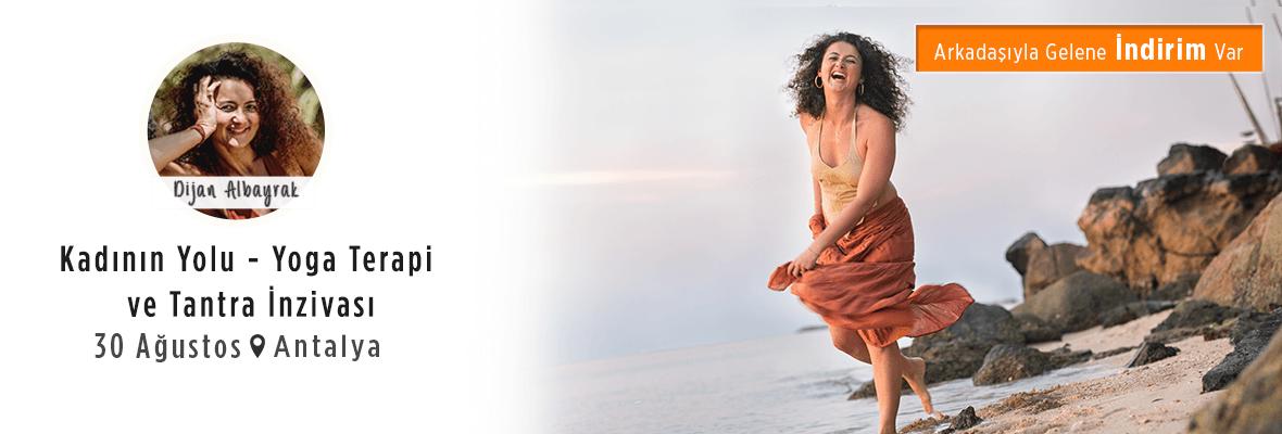 Kadının Yolu - Yoga Terapi ve Tantra İnzivası