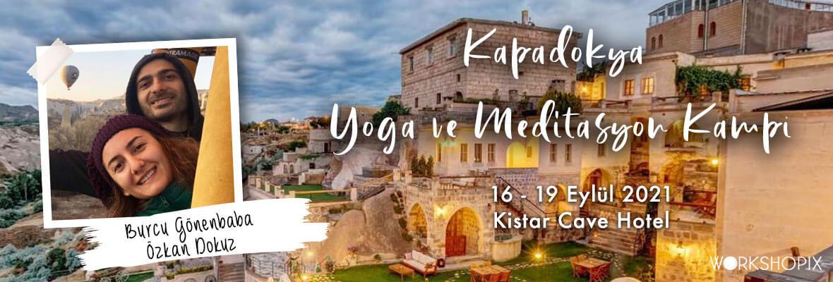 Burcu ve Özkan ile Kapadokya Yoga ve Meditasyon Kampı Burcu Gönenbaba