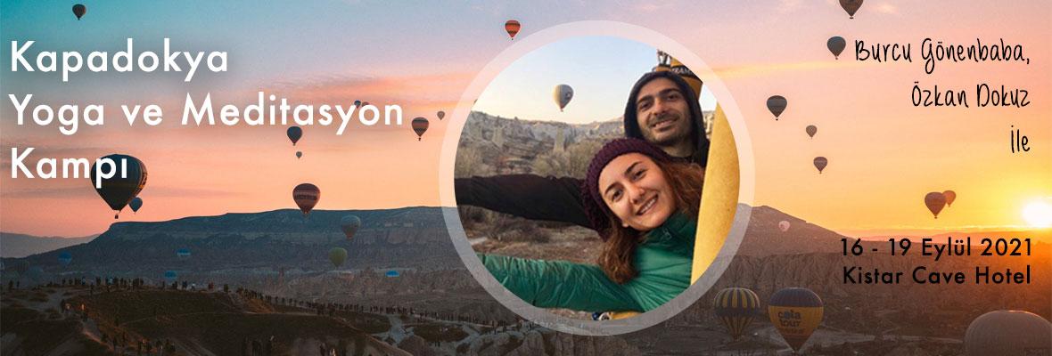 Burcu ve Özkan ile Kapadokya Yoga ve Meditasyon Kampı