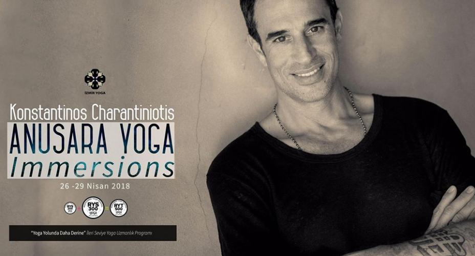 Konstantinos Charantiniotis ile Anusara Yoga Immersions - Konstantinos Charantiniotis ile Anusara Yoga Immersions - 1