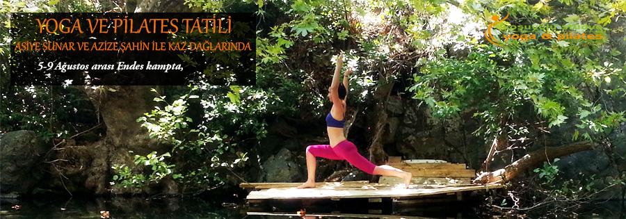 Kaz Dağları'nda Yoga ve Pilates Tatili