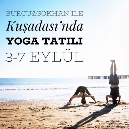 Kuşadası'nda Yoga Tatili Burcu Karaveli