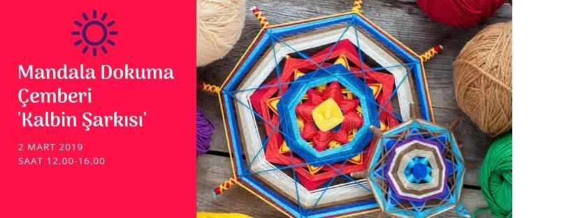 Kalbin Şarkısı Mandala Dokuma Çemberi-Nişantaşı
