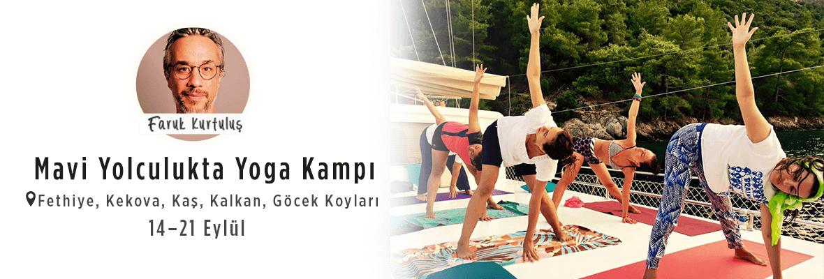 Mavi Yolculukta Yoga Kampı