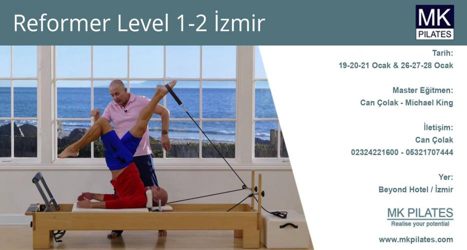 Michael King Reformer Pilates Level 1 ve 2 Eğitimi