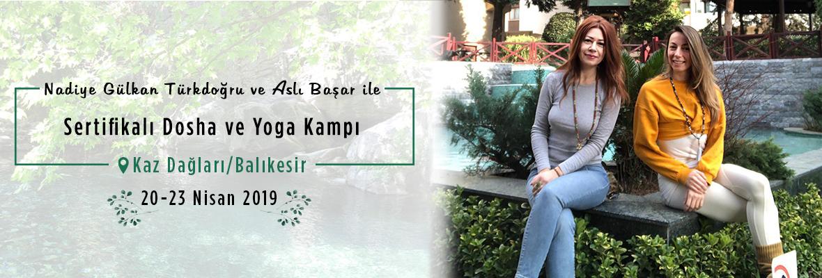 Nadiye Gülkan Türkdoğru ve Aslı Başar ile Sertifikalı Dosha ve Yoga Kampı