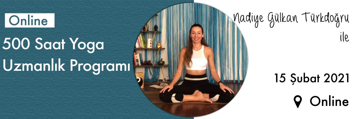 500 Saat Yoga Uzmanlık Programı